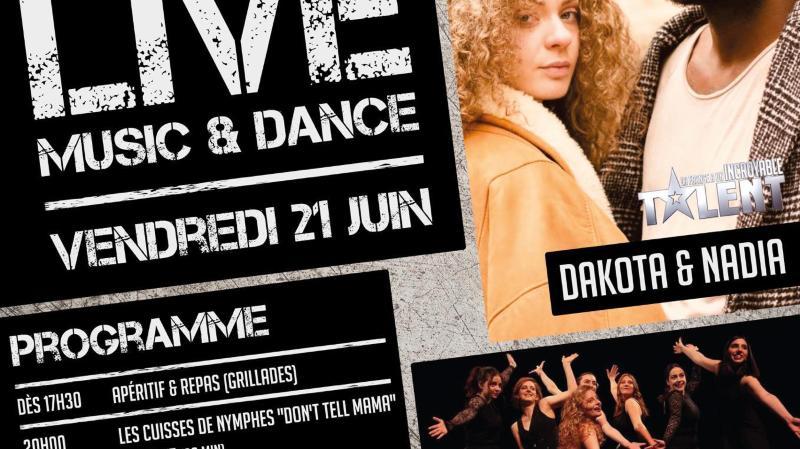Live music & dance