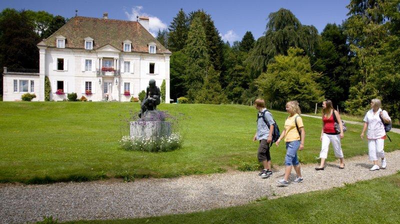 En famille au Château des Monts