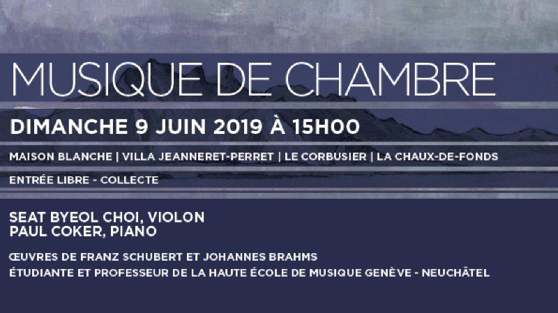 Schubert et Brahms s'invitent chez Le Corbusier