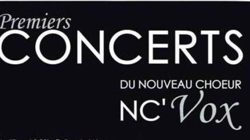 Concert chœur NC'VOX - Direction Laurence Lattion