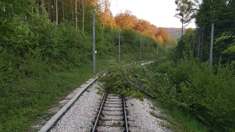 Région: de nombreuses perturbations en raison des vents tempétueux