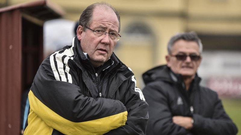 Michel Tachet (à gauche) sera le nouvel entraîneur de Gingins.