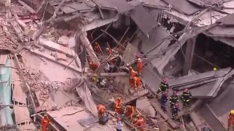 Chine: un bâtiment en rénovation s'effondre à Shanghai, au moins sept morts