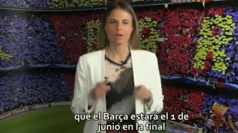 Football – Ligue des champions: un journal catalan publie par erreur une vidéo du Barça en finale