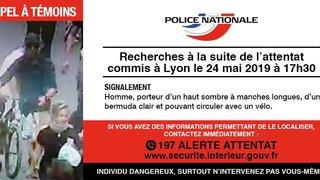 Colis piégé à Lyon: une chasse à l'homme est lancée