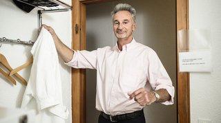 A Paléo ou dans son cabinet, le docteur Widmer n'a pas manqué de cran