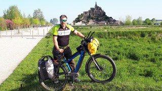 Cet habitant de Reverolle boucle un Tour de France à vélo électrique