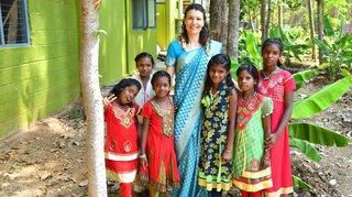 Elle quitte le marketing de luxe pour aider les enfants en Inde