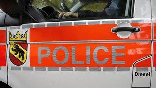 Une personne en feu sur une route près de Bienne (BE)