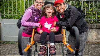 Morges: la Coquette accueillait pour la première fois une course populaire dédiée spécifiquement aux personnes handicapées