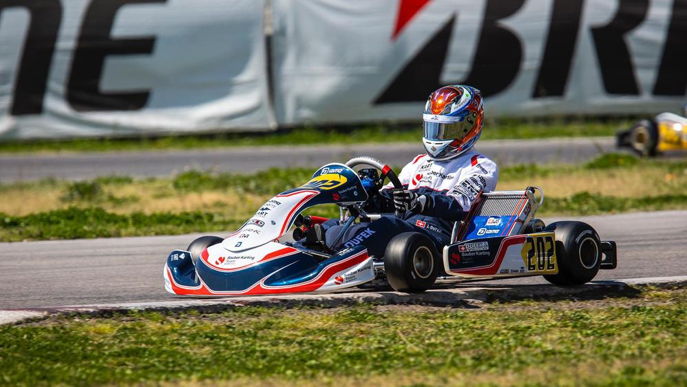 Joshua Dufek reste sur une 5e place décrochée dimanche à Lonato (Italie).