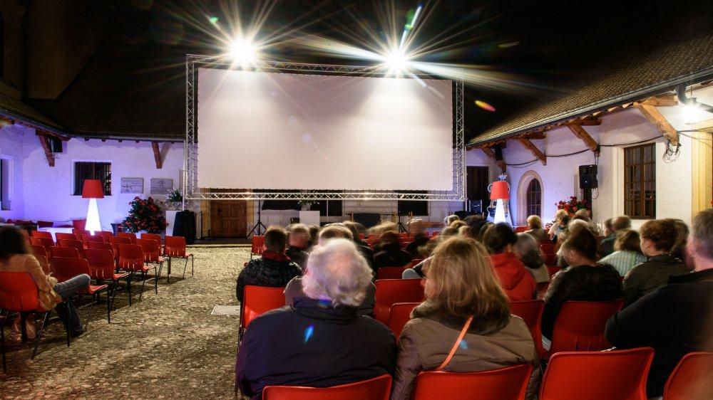 A Morges, les cinéphiles profiteront pour la quatrième fois des projections dans la cour dite d'honneur, au cœur du château.