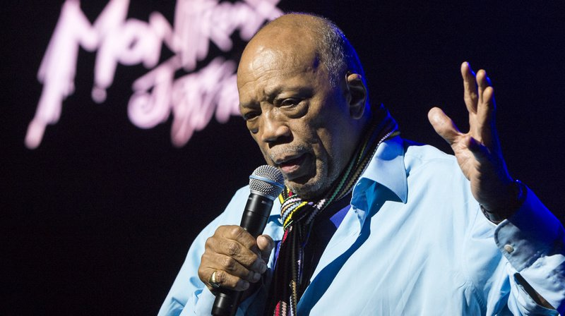Quincy Jones, 86 ans, fait partie des fidèles du Montreux Jazz.