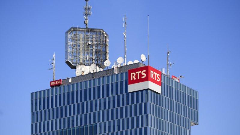 Le National ne veut pas que la RTS déserte la tour de Genève (archives).