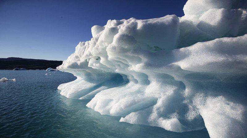 En 2012 déjà, la quasi-totalité de la glace du Groenland avait fondu en l'espace d'un mois. (Illustration)