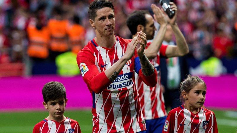 Fernando Torres était retourné à l'Atlético, avant de tenter une dernière expérience au Japon (archives).