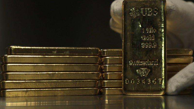 L'or à 1400 dollars l'once, au plus haut depuis 2013