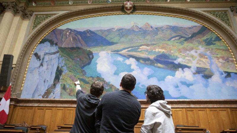 Pendant la rénovation, l'entrée des visiteurs sera fermée et il n'y aura pas de visites guidées. (illustration)