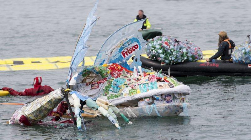 Les membres du G20 se sont engagés à réduire les déchets plastiques en milieu marin. (Illustration)