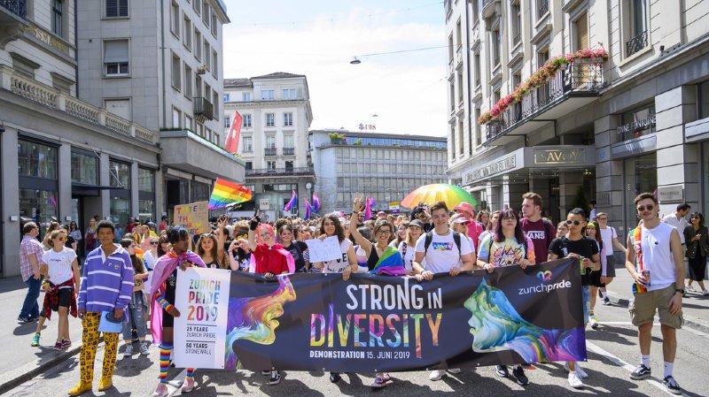 Le Zurich Pride Festival, sous le signe de la diversité, a attiré des millers de personnes.