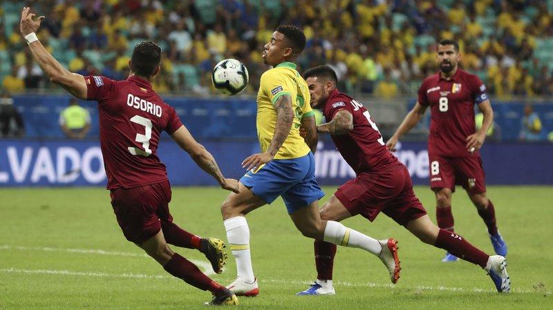 Football – Copa America: chez lui, le Brésil contraint à un triste nul face au Venezuela