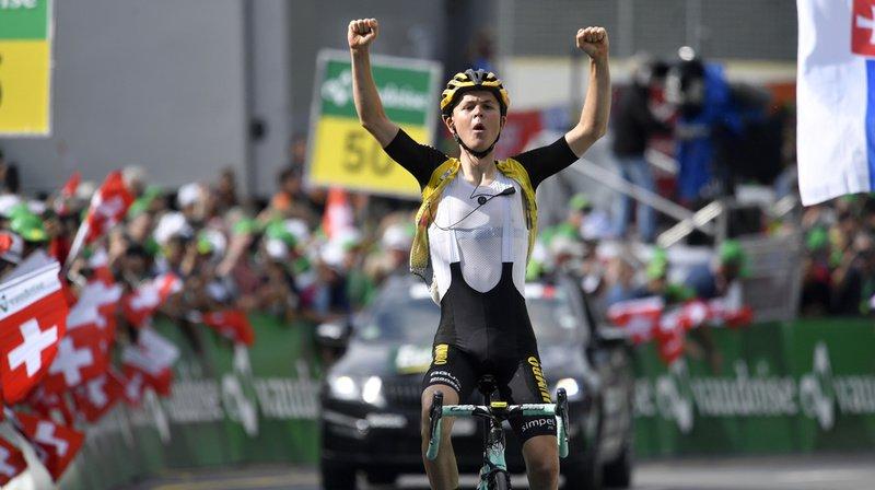 Cyclisme – Tour de Suisse: Tolhoek vainqueur au Flumserberg, le jaune pour Bernal