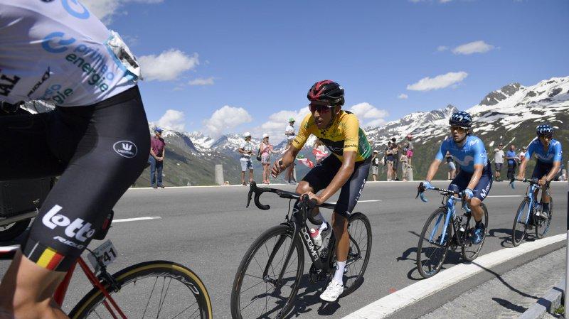 Bernal (22 ans) remporte ainsi sa deuxième course de la saison après son triomphe dans Paris - Nice.