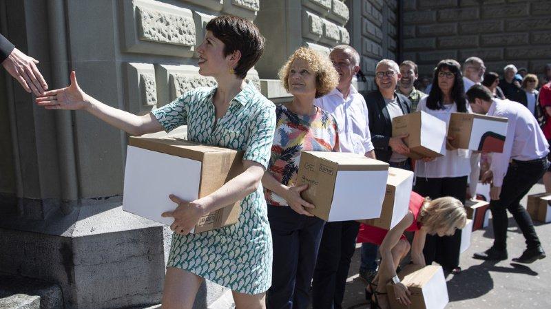 134'000 signatures pour l'initiative contre les exportations d'armes vers les pays en guerre civile