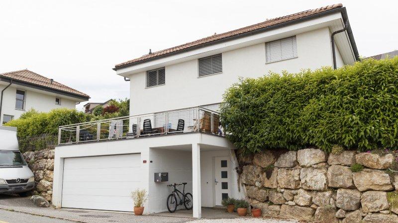 Le quartier de villas de Châtagnis théâtre d'un drame familial à huis clos