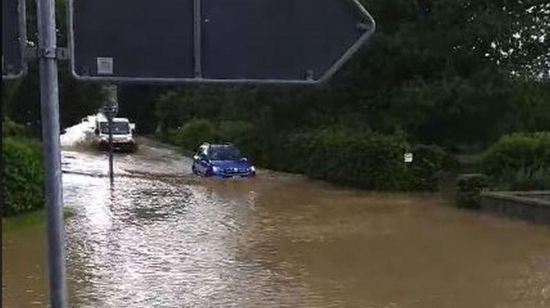 Nouvelle vague d'inondations à Cossonay et La Chaux