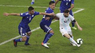 Football – Copa America: l'Argentine tenue en échec  1 à 1 par le Paraguay