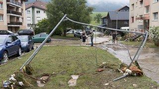 Inondations mortelles dans le Val-de-Ruz (NE)