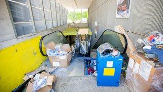 Escalators du Nyon-St-Cergue: il ne faudra pas attendre dix mois de plus