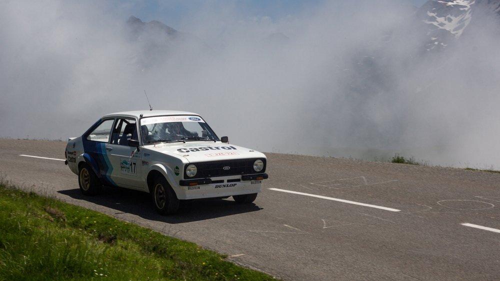 Catherine Labbé-Georges dispute cette semaine le Marathon des Pyrénées au volant d'une Ford Escort de 1976.