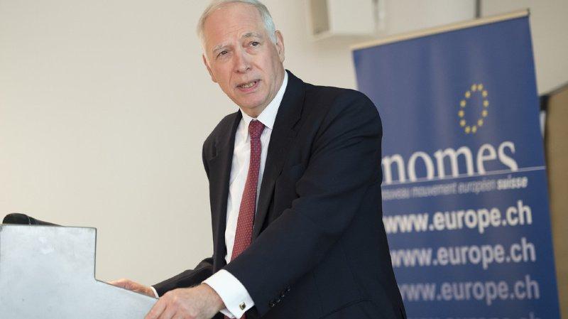 Suisse – UE: un ancien négociateur suisse trouve qu'il est urgent de conclure l'accord-cadre