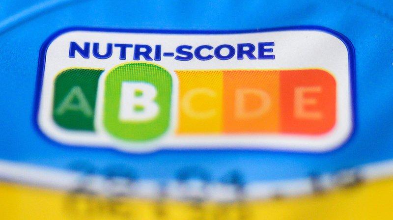 Le Nutri-Score évalue l'aliment dans son ensemble sur une échelle de cinq couleurs associées à des lettres allant de A à E. (Illustration)