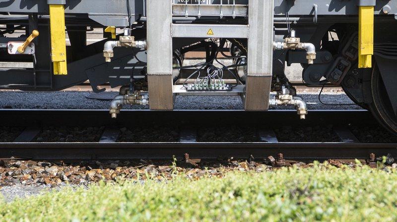 Transport ferroviaire: les CFF n'utiliseront plus de glyphosate d'ici à 2025