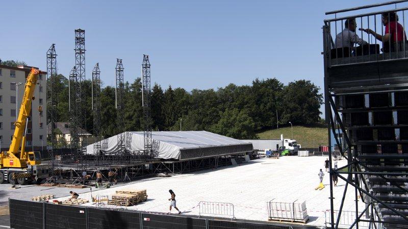 Montreux Jazz Festival: treize jours pour monter la scène qui accueillera Elton John