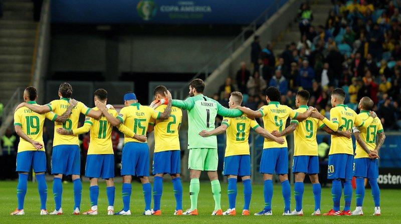 A onze contre 10, le Brésil a dû attendre les tirs au but pour se défaire du Paraguay, qui avait éliminé la Seleçao lors des deux dernières éditions.