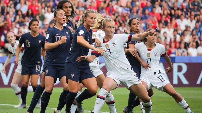 Football - Mondial féminin 2019: les Etats-Unis battent la France et se hissent en demi-finale