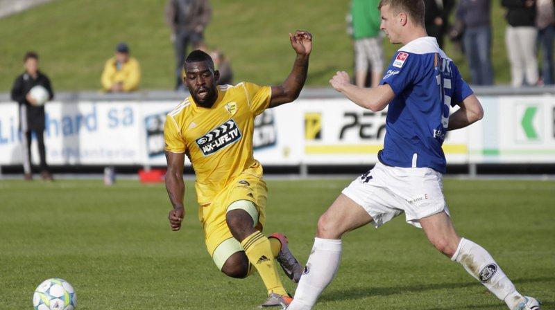 Bertrand Ndzomo, ici sous le maillot du Stade Nyonnais, a signé à Forward-Morges