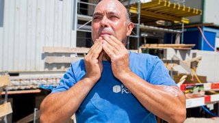 Pour prévenir les cancers, ils distribuent de la crème solaire sur un chantier nyonnais