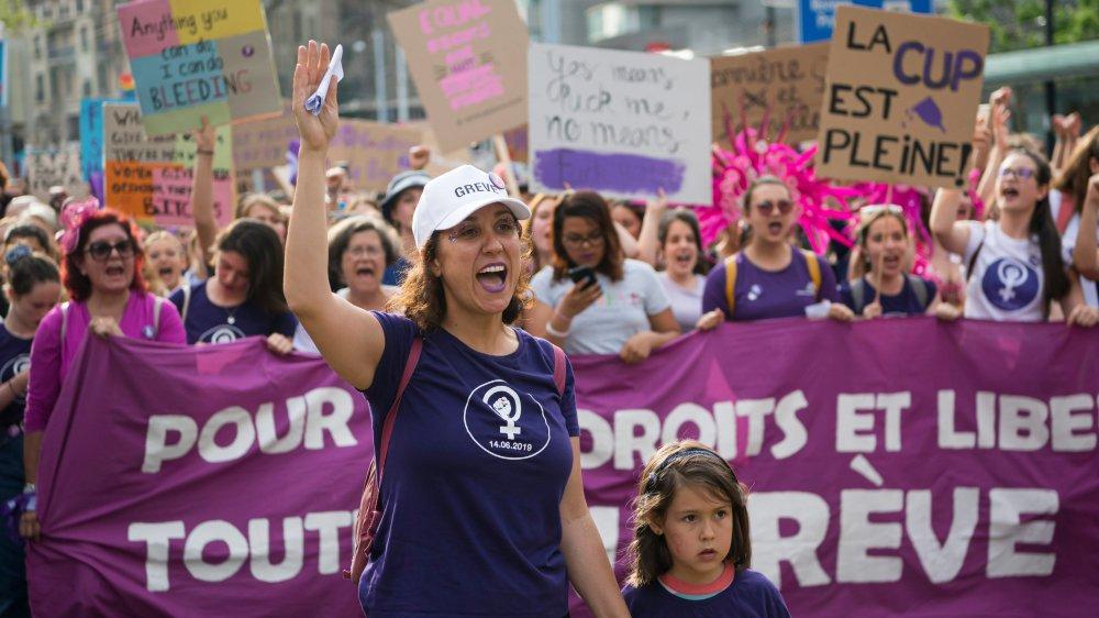 La combativité syndicale a été dopée par le succès de la grève de femmes.