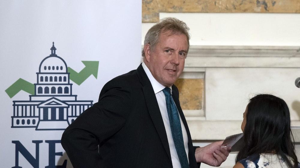 L'ambassadeur britannique aux Etats-Unis, Kim Darroch, a annoncé sa démission mercredi  après la controverse avec le président américain Donald Trump.