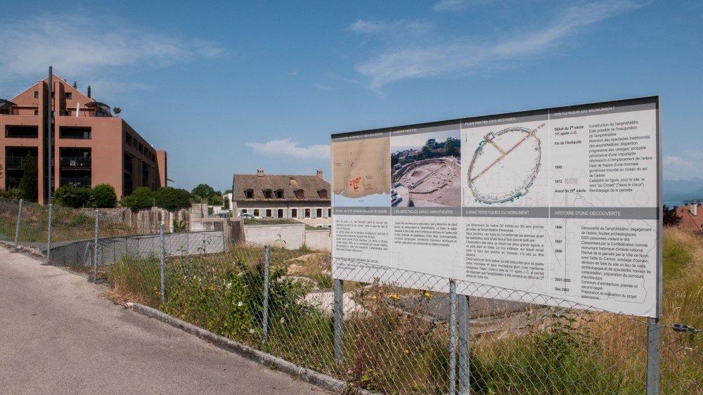 L'amphithéâtre des Romains attendra encore un peu...