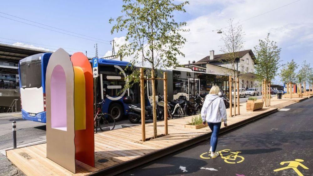Nyon est une ville appréciée des adeptes de mobilité douce.