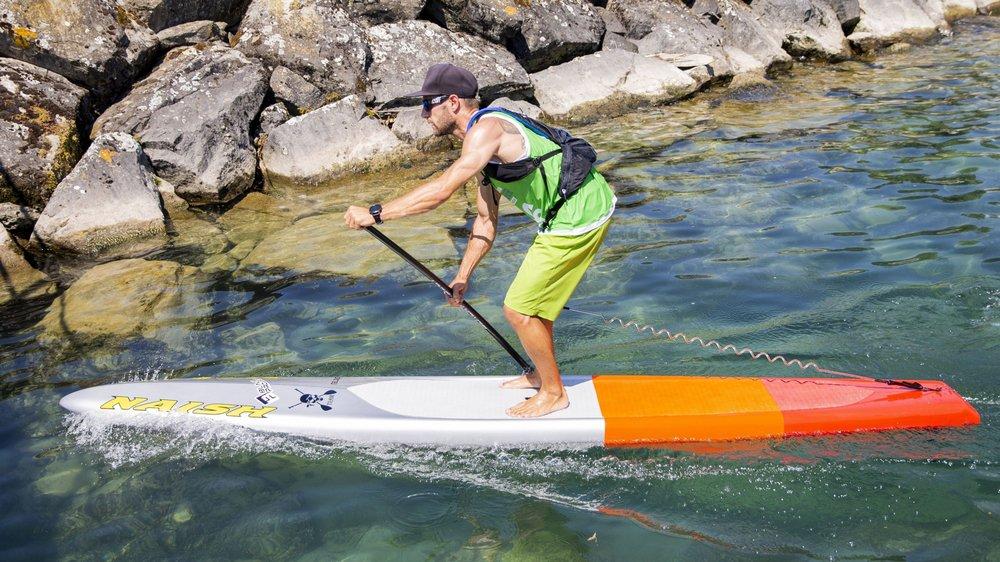 Les paddlers de la région pourront se faire plaisir dans les eaux turquoises du port de Crans-près-Céligny.