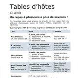 """Table d'hôtes """"Chez Liliane"""""""