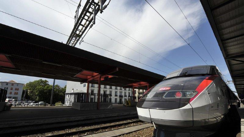 Les TGV ne circulent plus entre Genève et Paris.