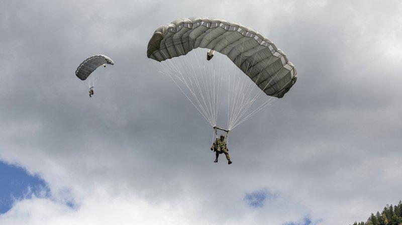 Le jeune homme participait à un cours préparatoire de l'armée suisse pour devenir éclaireur-parachutiste. (Illustration)